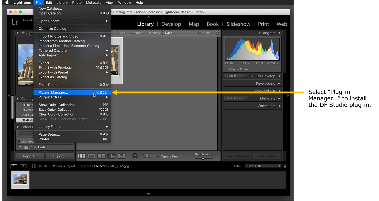 Install the DF Studio Plug-In for Lightroom Classic – Knowledge Base